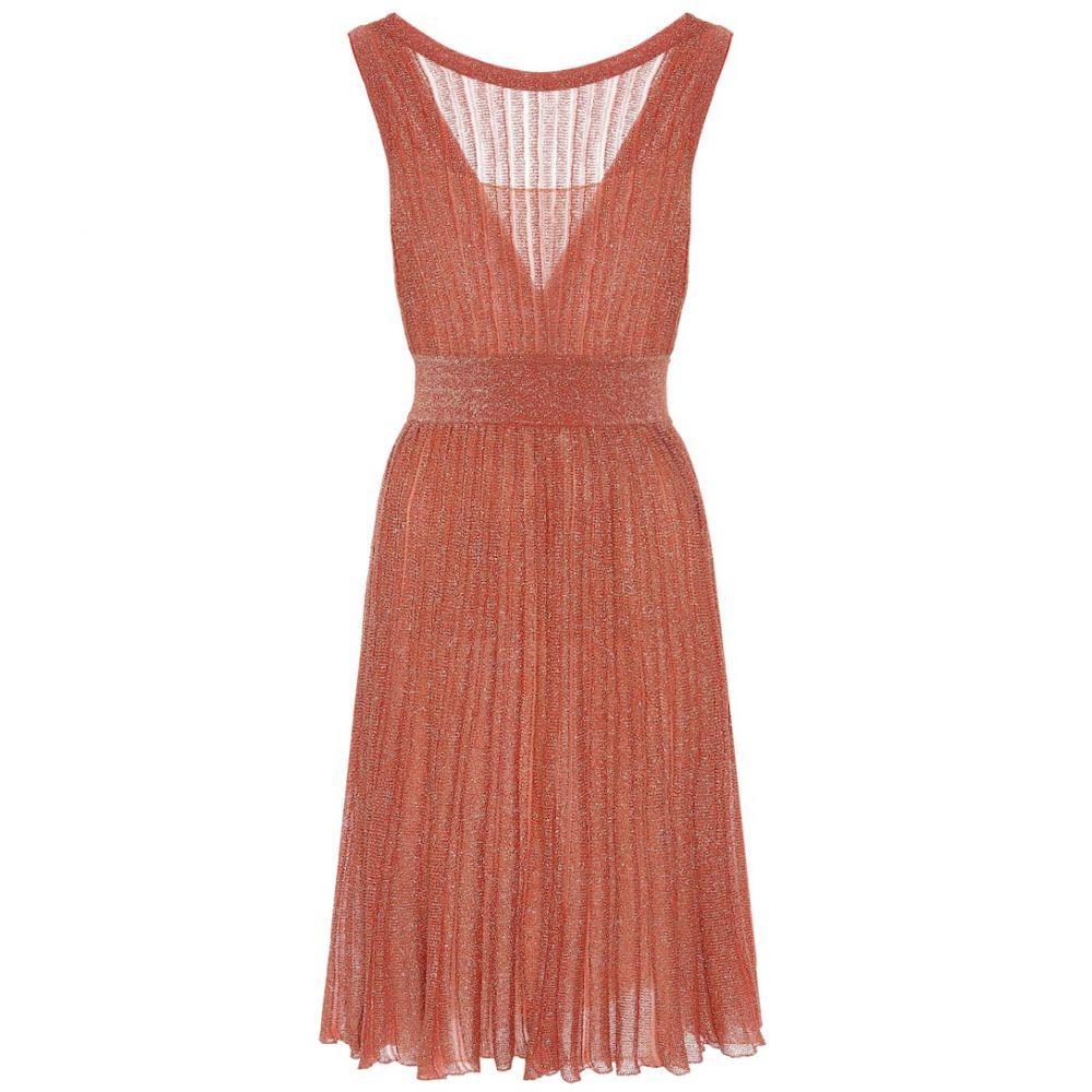 ミッソーニ Missoni レディース ワンピース ワンピース・ドレス【Metallic-knit dress】