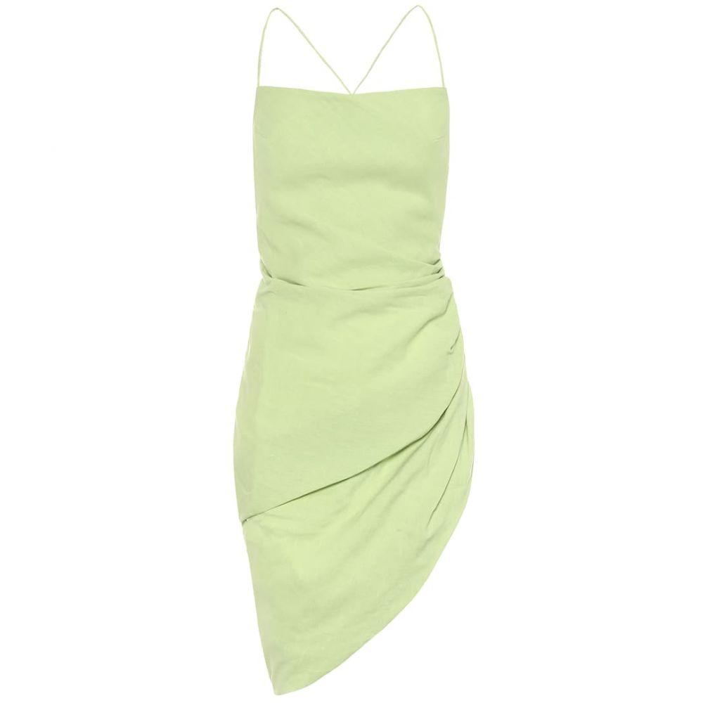 ジャックムス Jacquemus レディース パーティードレス ワンピース・ドレス【La Robe Saudade minidress】Green