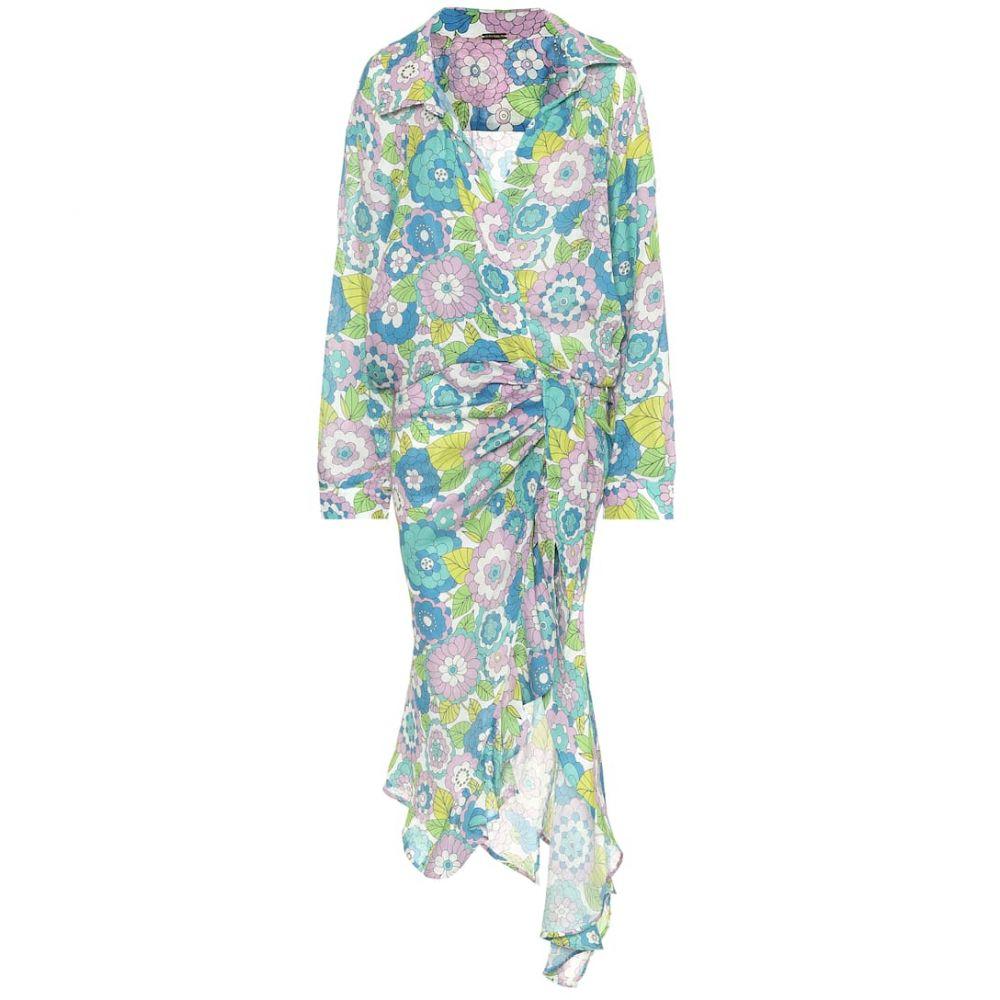 ドド バー オア Dodo Bar Or レディース ワンピース ワンピース・ドレス【Floral cotton dress】Blue