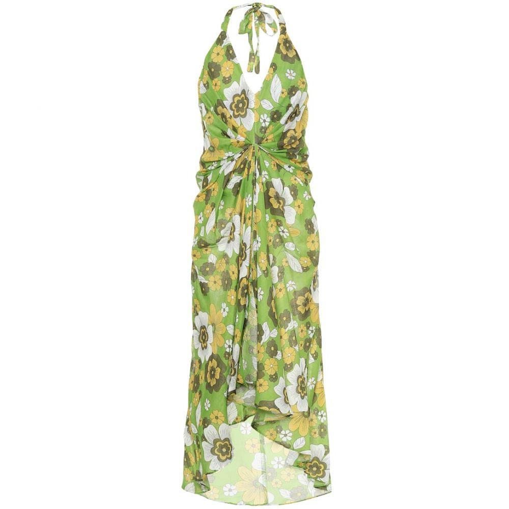 ドド バー オア Dodo Bar Or レディース ワンピース ワンピース・ドレス【Floral cotton dress】Green