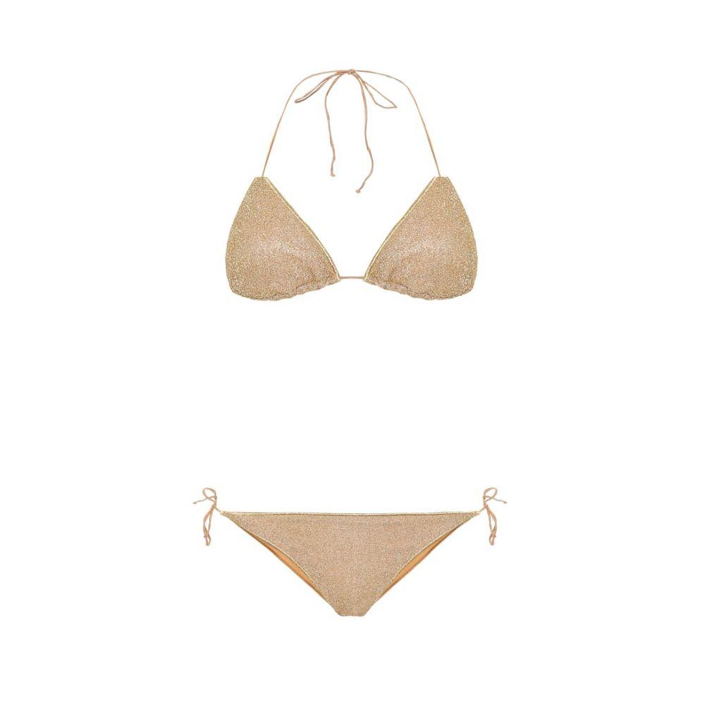 オセリー Oseree レディース 上下セット 水着・ビーチウェア【Lumiere bikini】Gold