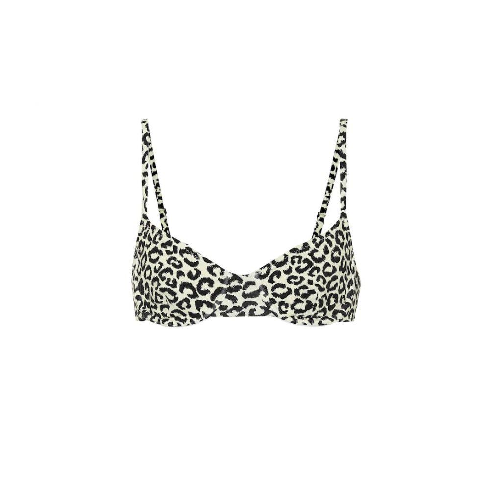 ソリッド&ストライプ Solid & Striped レディース トップのみ 水着・ビーチウェア【The Eva leopard-print bikini top】Leopard
