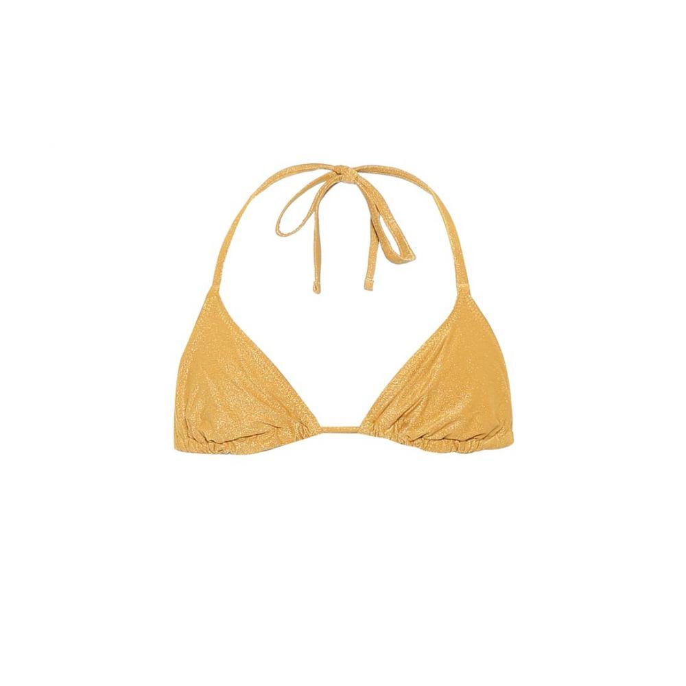ソリッド&ストライプ Solid & Striped レディース トップのみ 水着・ビーチウェア【The Iris bikini top】Glitter Gold