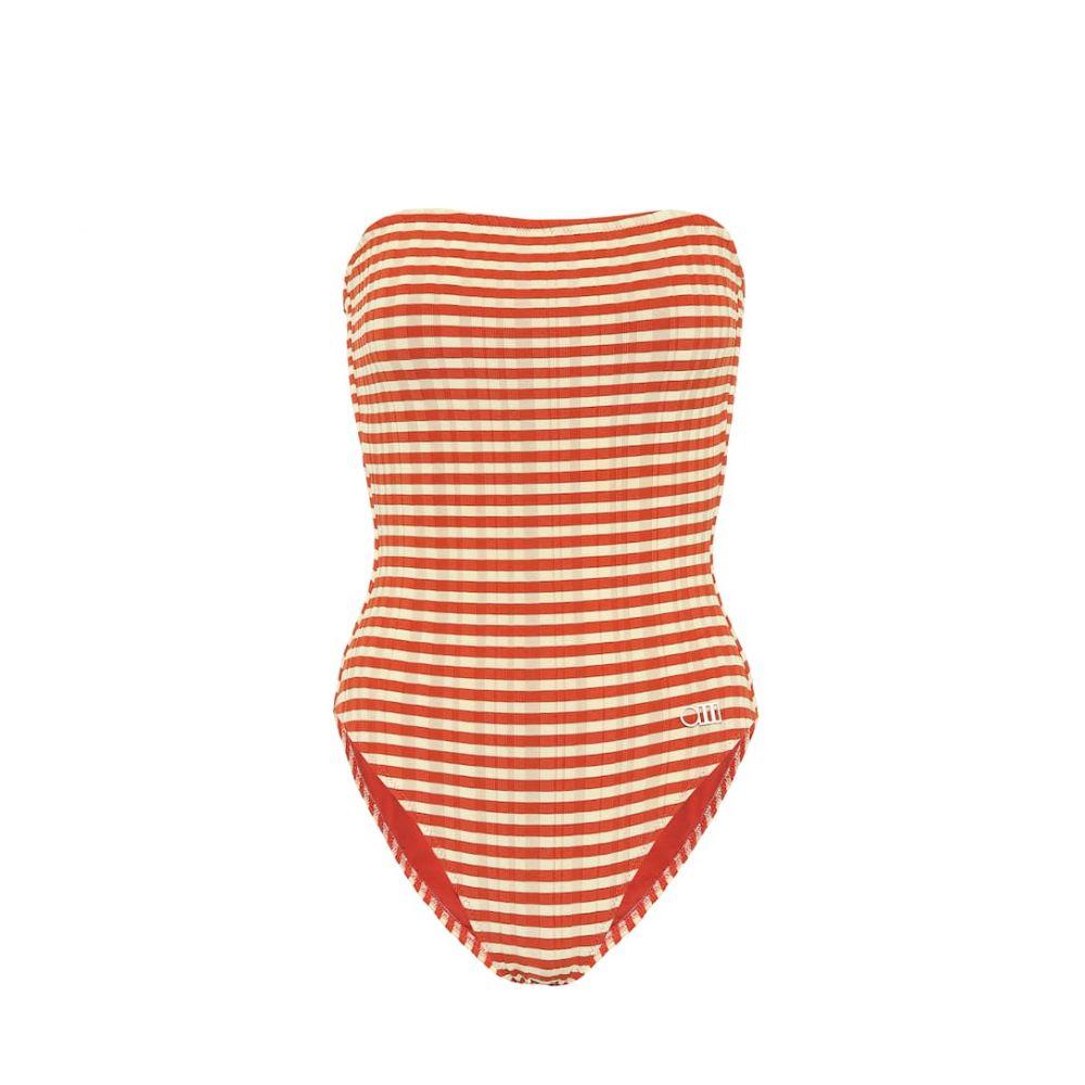 ソリッド&ストライプ Solid & Striped レディース ワンピース 水着・ビーチウェア【The Madeline striped swimsuit】Bronye Rib-Striperib-Bio