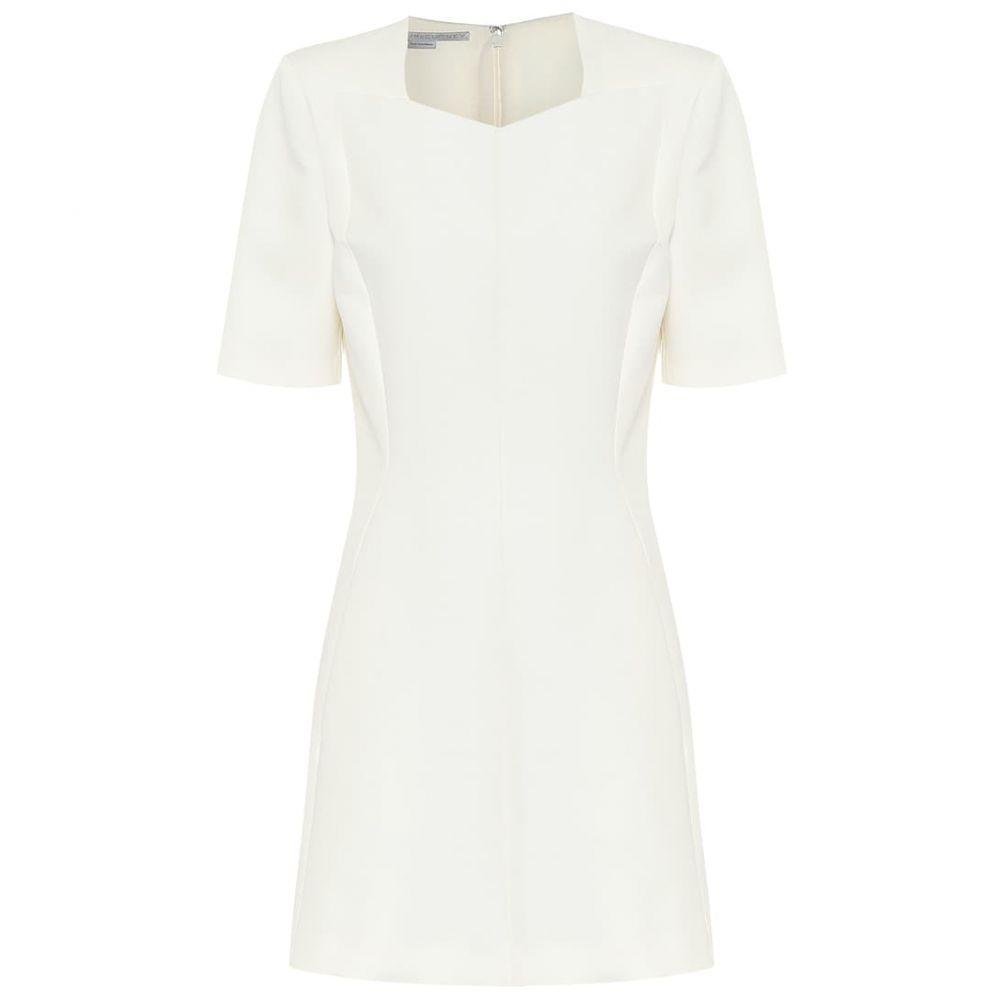 ステラ マッカートニー Stella McCartney レディース ワンピース ワンピース・ドレス【Mercato wool-blend minidress】Winter White