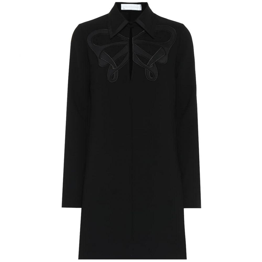 ヴィクトリア ベッカム Victoria Victoria Beckham レディース ワンピース ワンピース・ドレス【Crepe minidress】Black