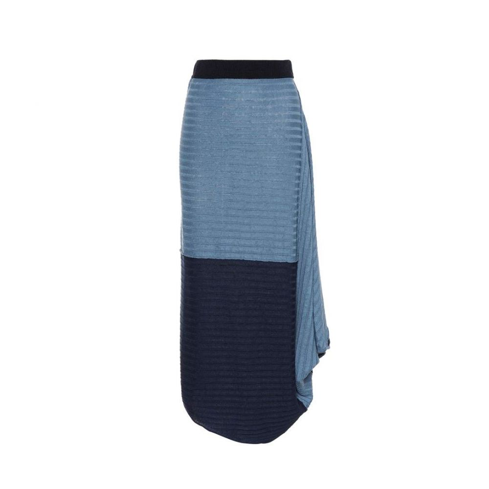 J.W.アンダーソン JW Anderson レディース スカート 【Asymmetrical linen skirt】Cornflower Blue