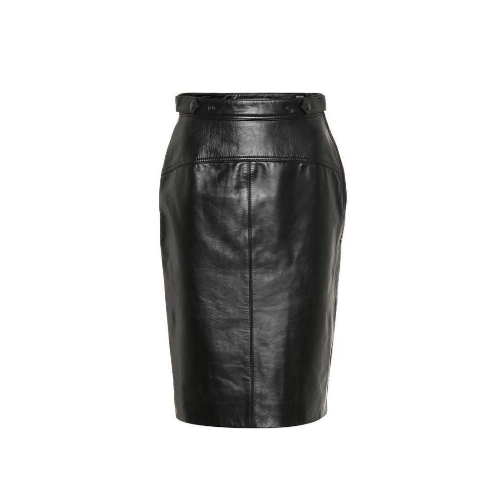 アクネ ストゥディオズ Acne Studios レディース スカート 【Leather skirt】black