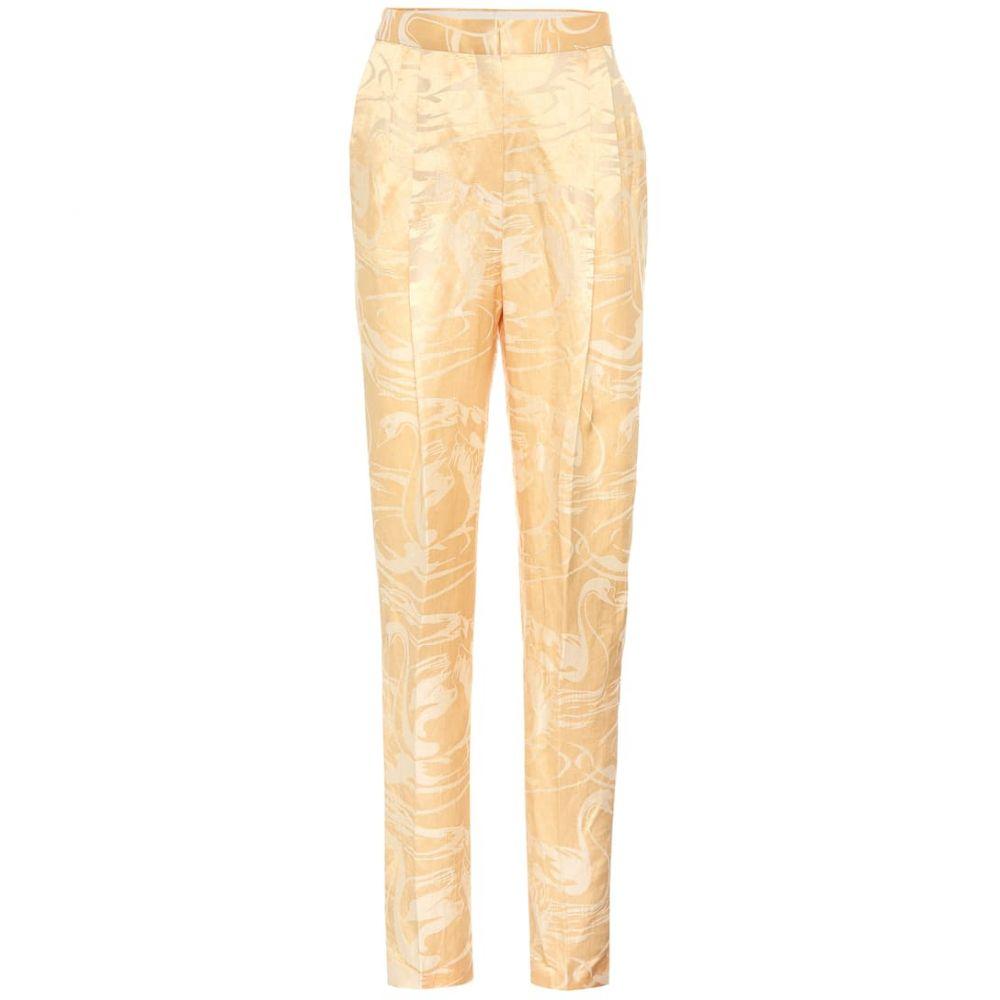 アクネ ストゥディオズ Acne Studios レディース ボトムス・パンツ 【High-rise wide-leg pants】yellow light yellow