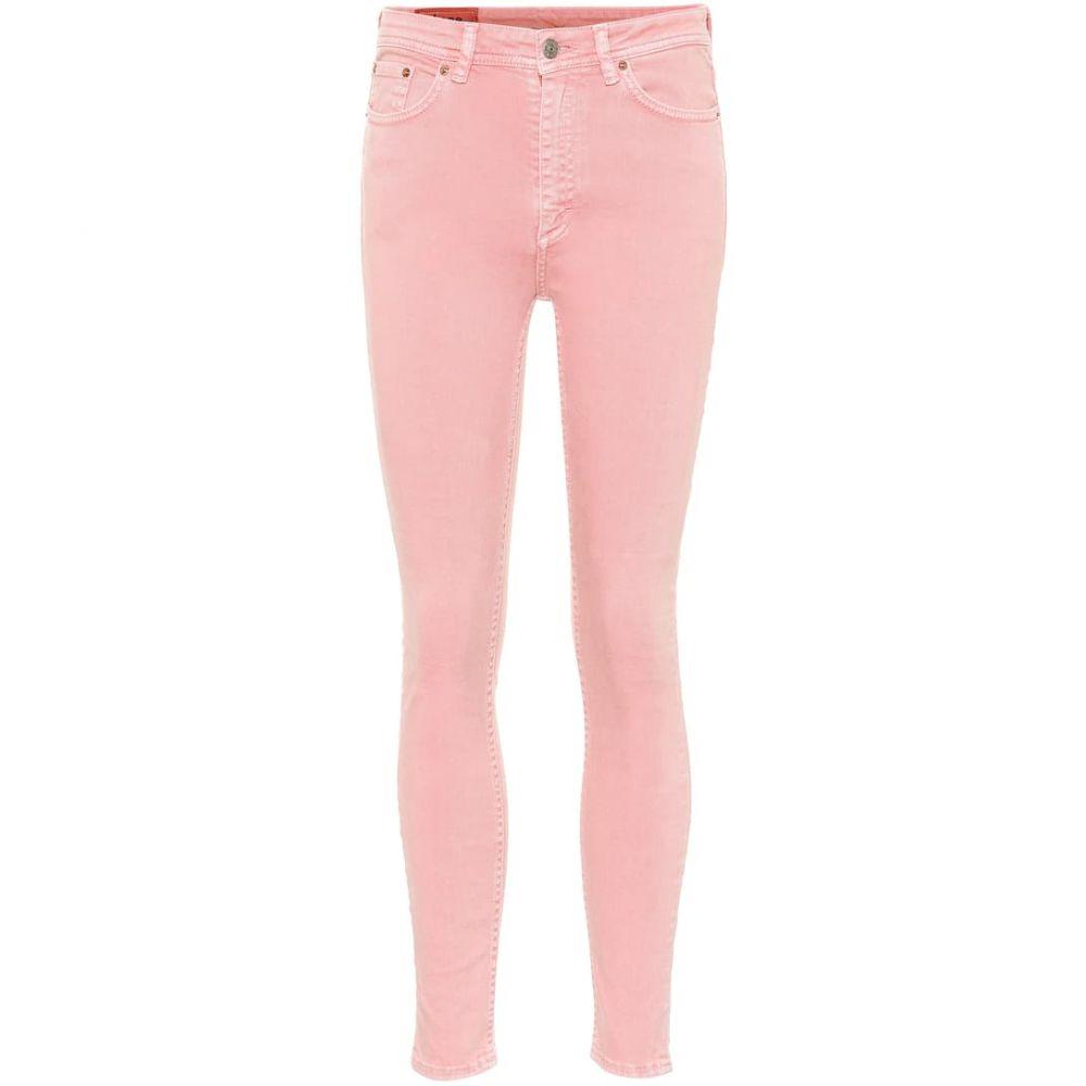 アクネ ストゥディオズ Acne Studios レディース ジーンズ・デニム ボトムス・パンツ【Bla Konst Peg high-rise skinny jeans】Blossom
