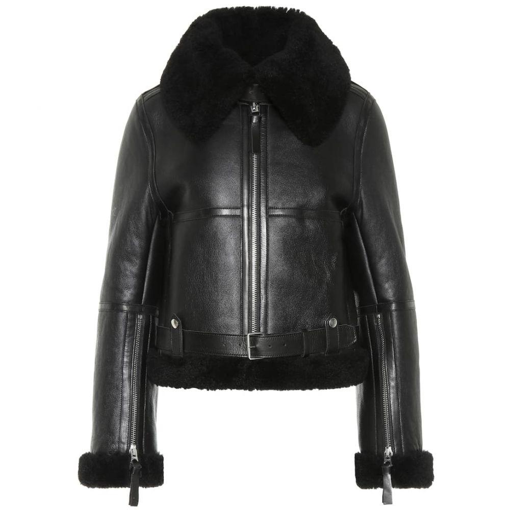アクネ ストゥディオズ Acne Studios レディース ジャケット シアリング アウター【Shearling jacket】Black/Black