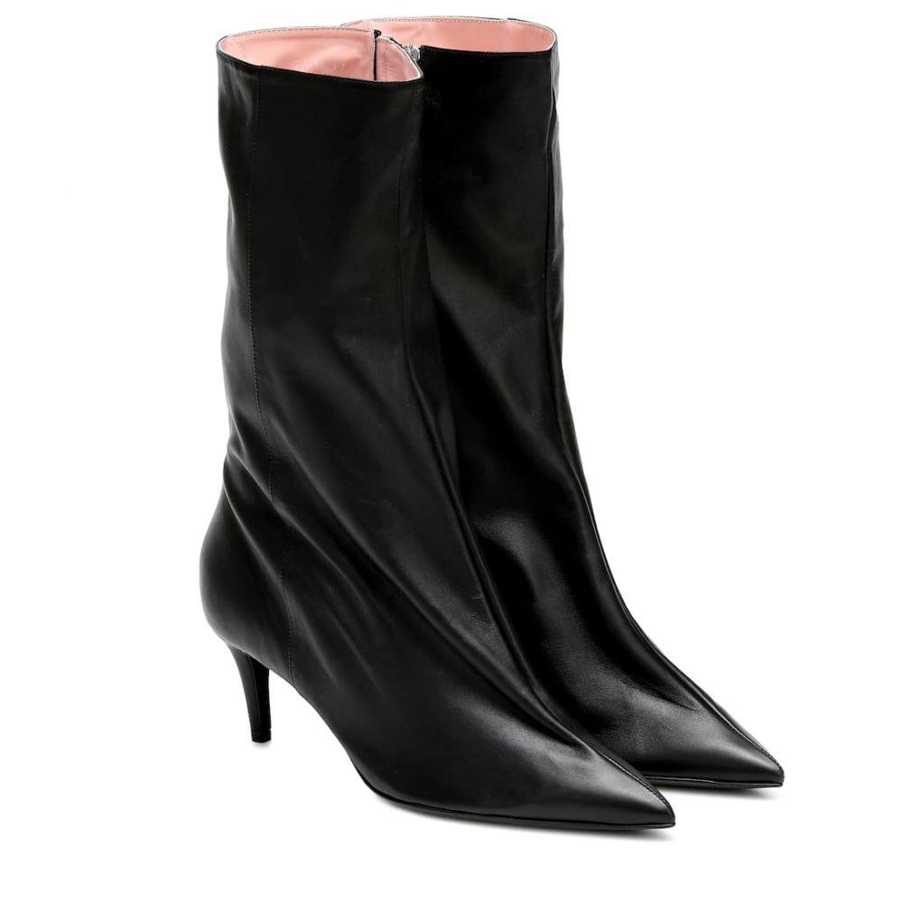 アクネ ストゥディオズ Acne Studios レディース ブーツ ショートブーツ シューズ・靴【Leather ankle boots】Black