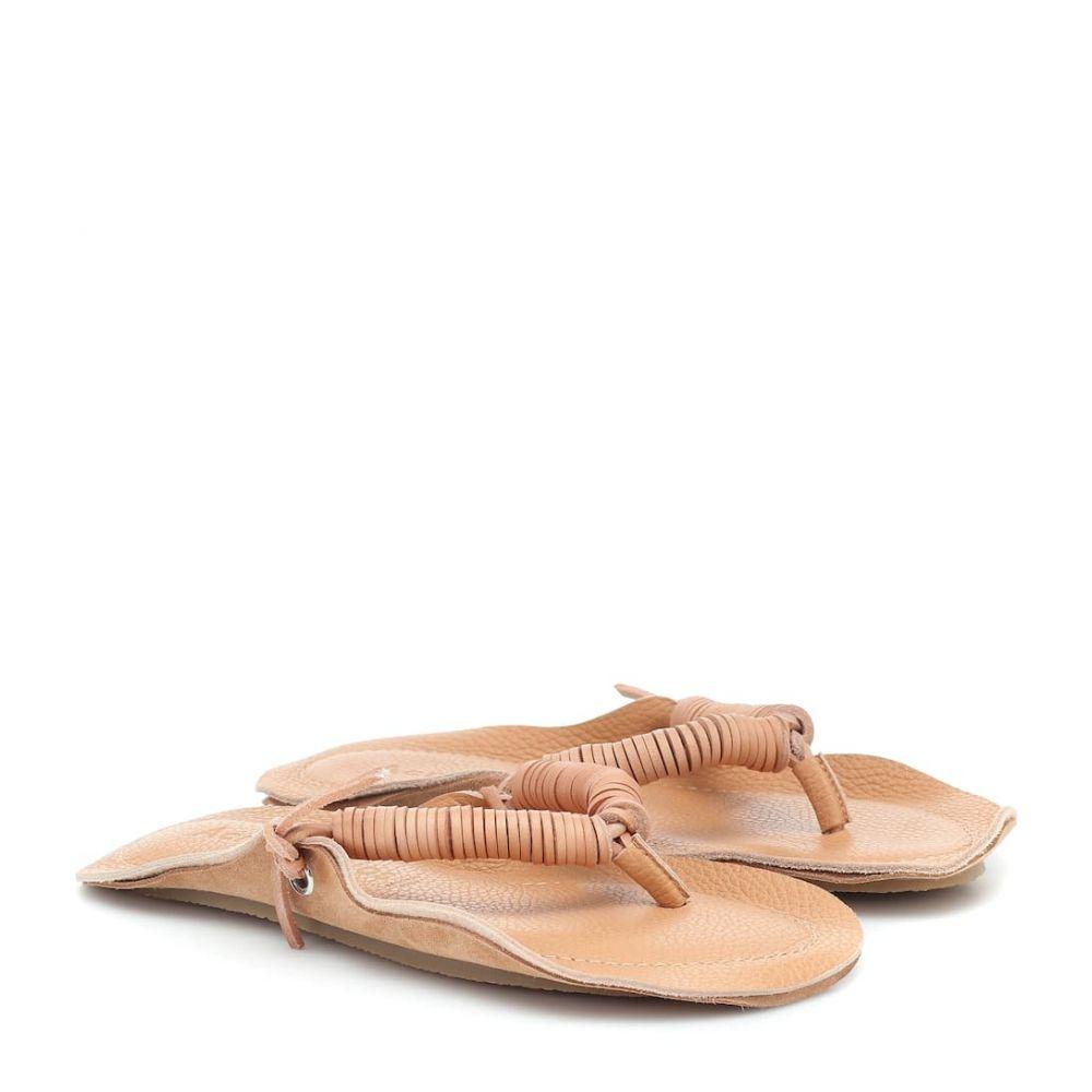 アクネ ストゥディオズ Acne Studios レディース サンダル・ミュール シューズ・靴【Leather sandals】Camel Brown