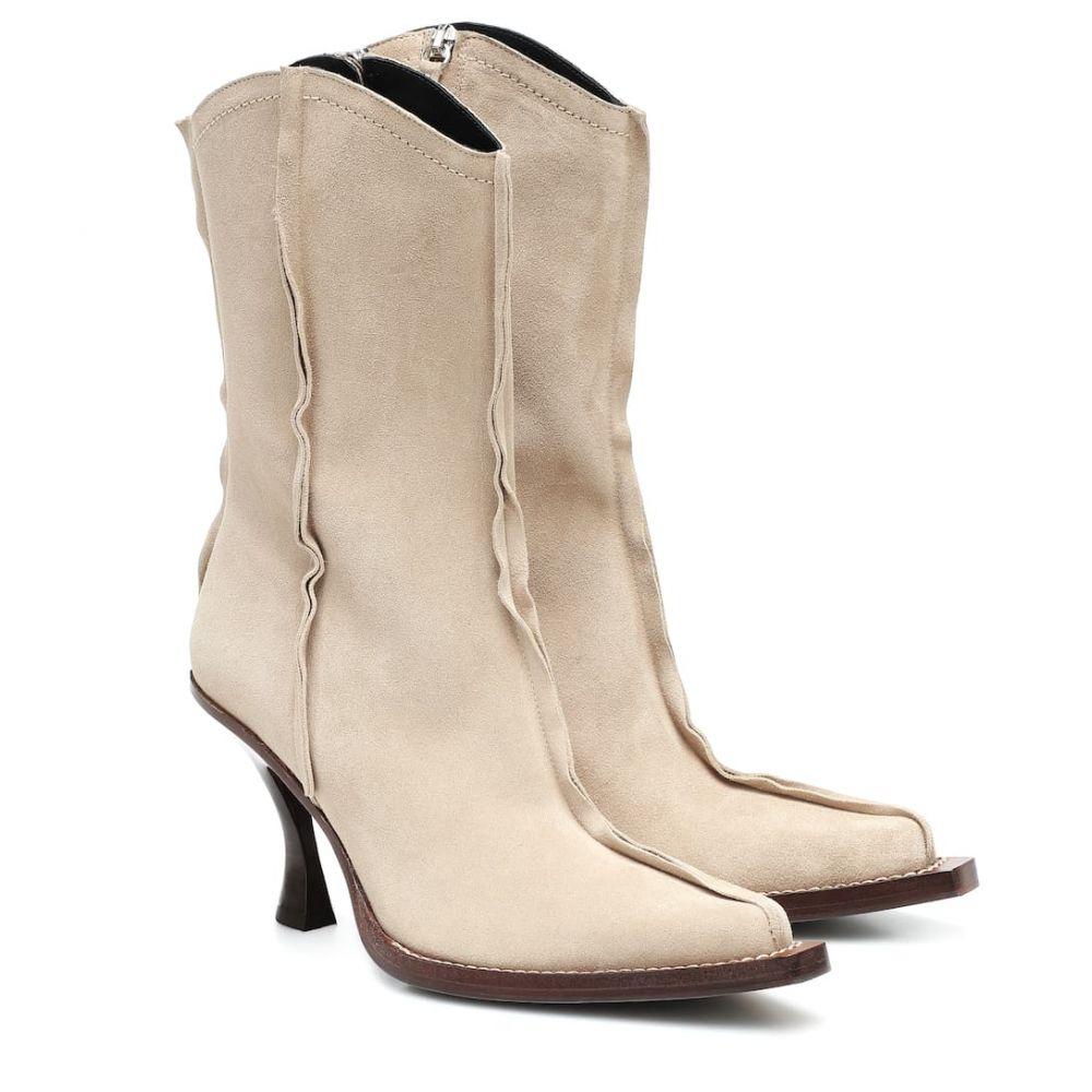 アクネ ストゥディオズ Acne Studios レディース ブーツ ショートブーツ シューズ・靴【Bree suede ankle boots】Beige