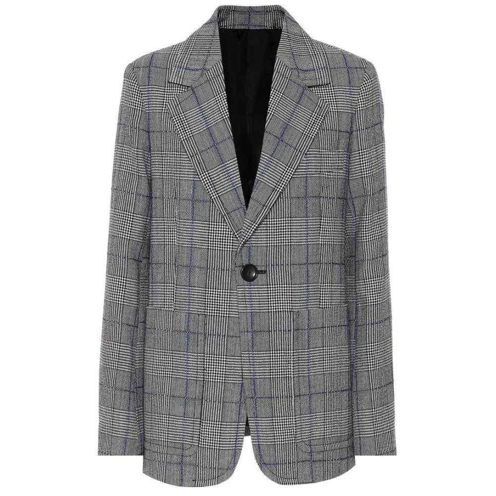 ジョゼフ Joseph レディース スーツ・ジャケット アウター【Annab checked wool blazer】black