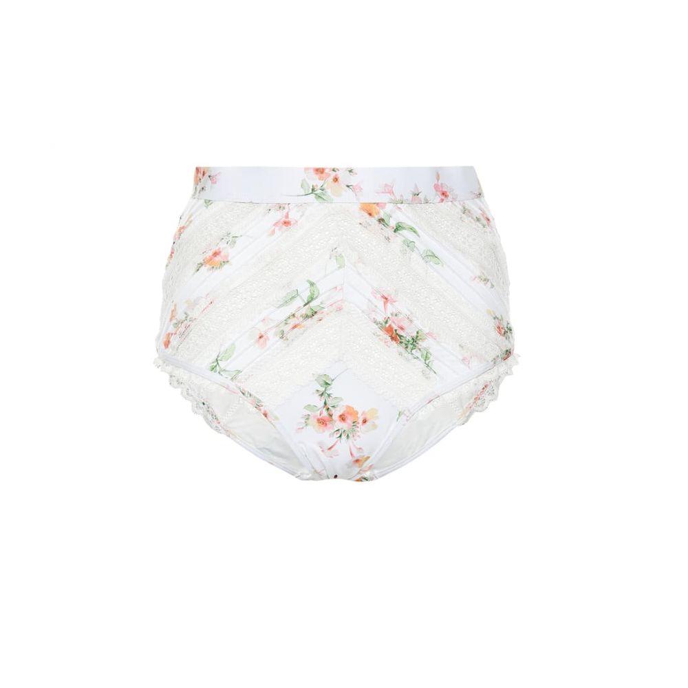 ジマーマン Zimmermann レディース ボトムのみ 水着・ビーチウェア【Heathers lace bikini bottoms】Floating Bouquet