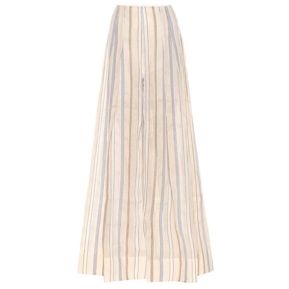 ジャックムス Jacquemus レディース ボトムス・パンツ 【Le Pantalon Arcello striped pants】Beige Stripes