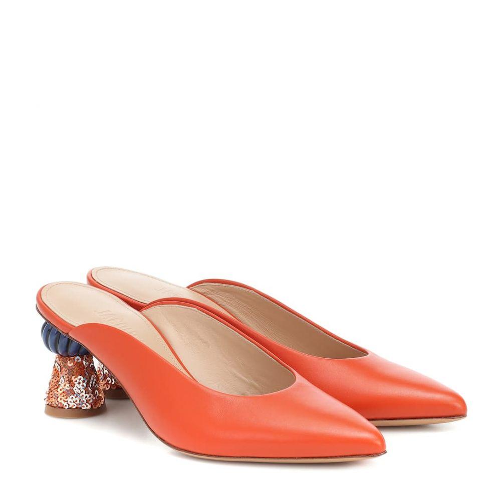 ジャックムス Jacquemus レディース サンダル・ミュール シューズ・靴【Les Mules Maceio leather mules】Orange