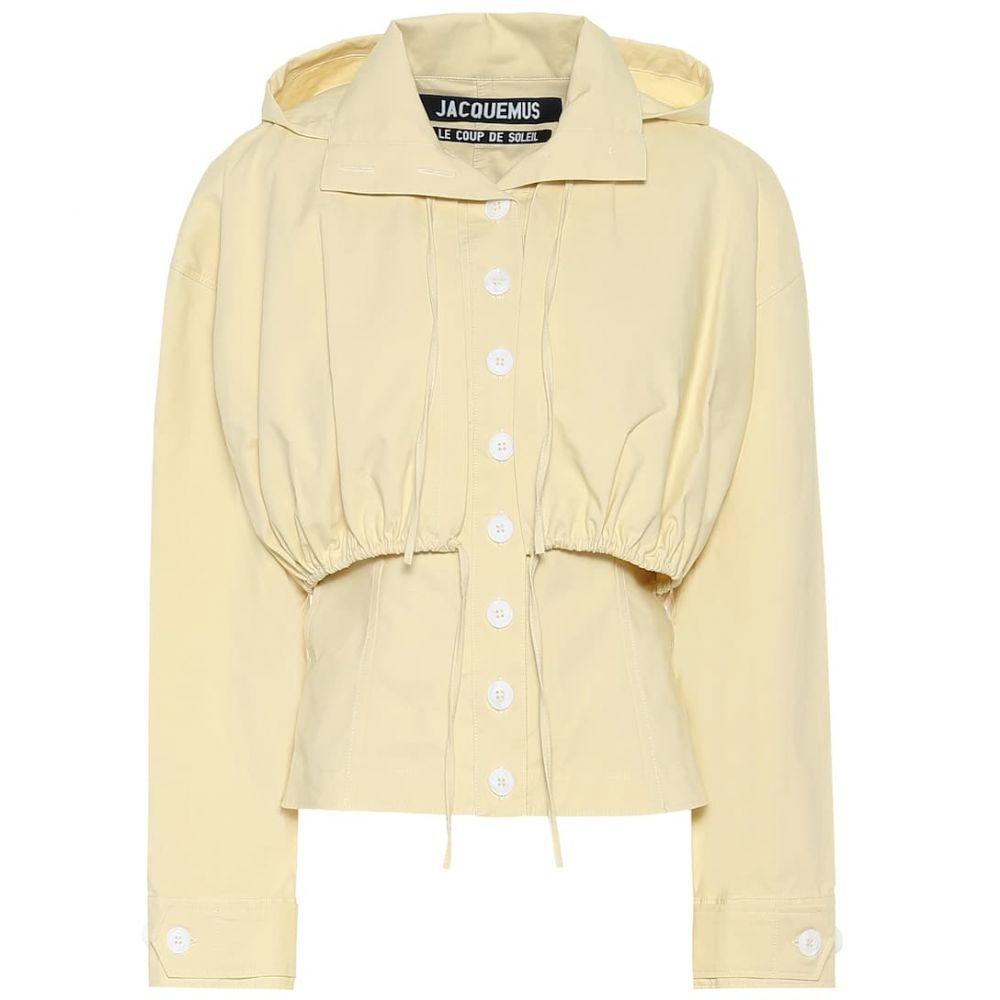 ジャックムス Jacquemus レディース ジャケット アウター【La Veste Mimosa cotton jacket】Yellow