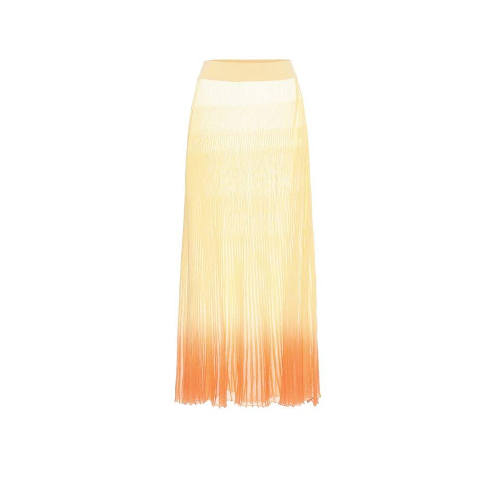 ジャックムス Jacquemus レディース ひざ丈スカート スカート【La Jupe Helado Longue midi skirt】Faded Orange