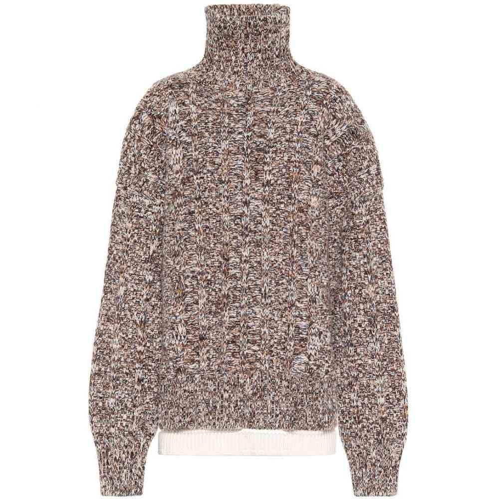 ジル サンダー Jil Sander レディース ニット・セーター トップス【Wool-blend turtleneck sweater】Open Miscellaneous