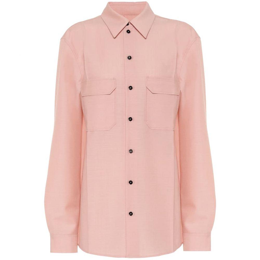 ジル サンダー Jil Sander レディース ブラウス・シャツ トップス【Wool and mohair shirt】Bright Pink