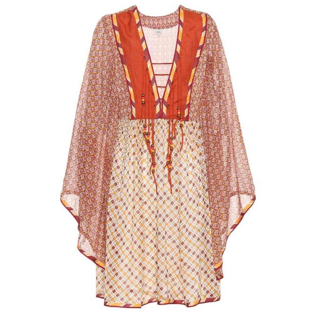 タリサ Talitha レディース ビーチウェア ワンピース・ドレス 水着・ビーチウェア【Printed dress】Orange