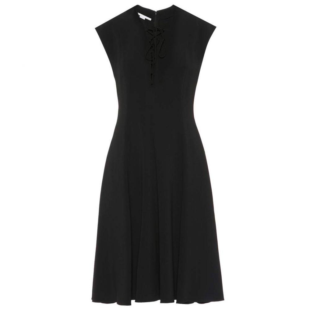 ステラ マッカートニー Stella McCartney レディース ワンピース ワンピース・ドレス【Juliet stretch cady dress】Black