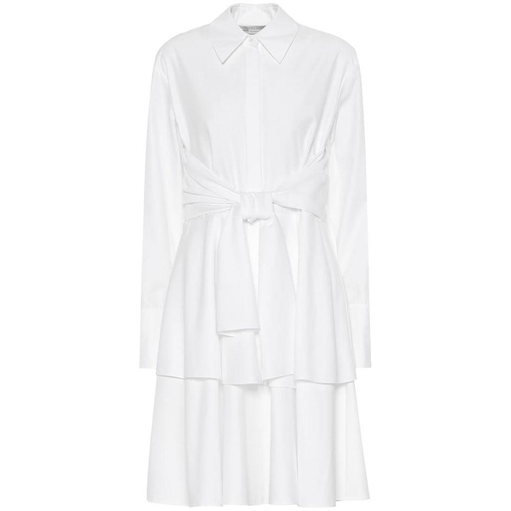 ステラ マッカートニー Stella McCartney レディース ワンピース シャツワンピース ワンピース・ドレス【Cotton shirt dress】pure white