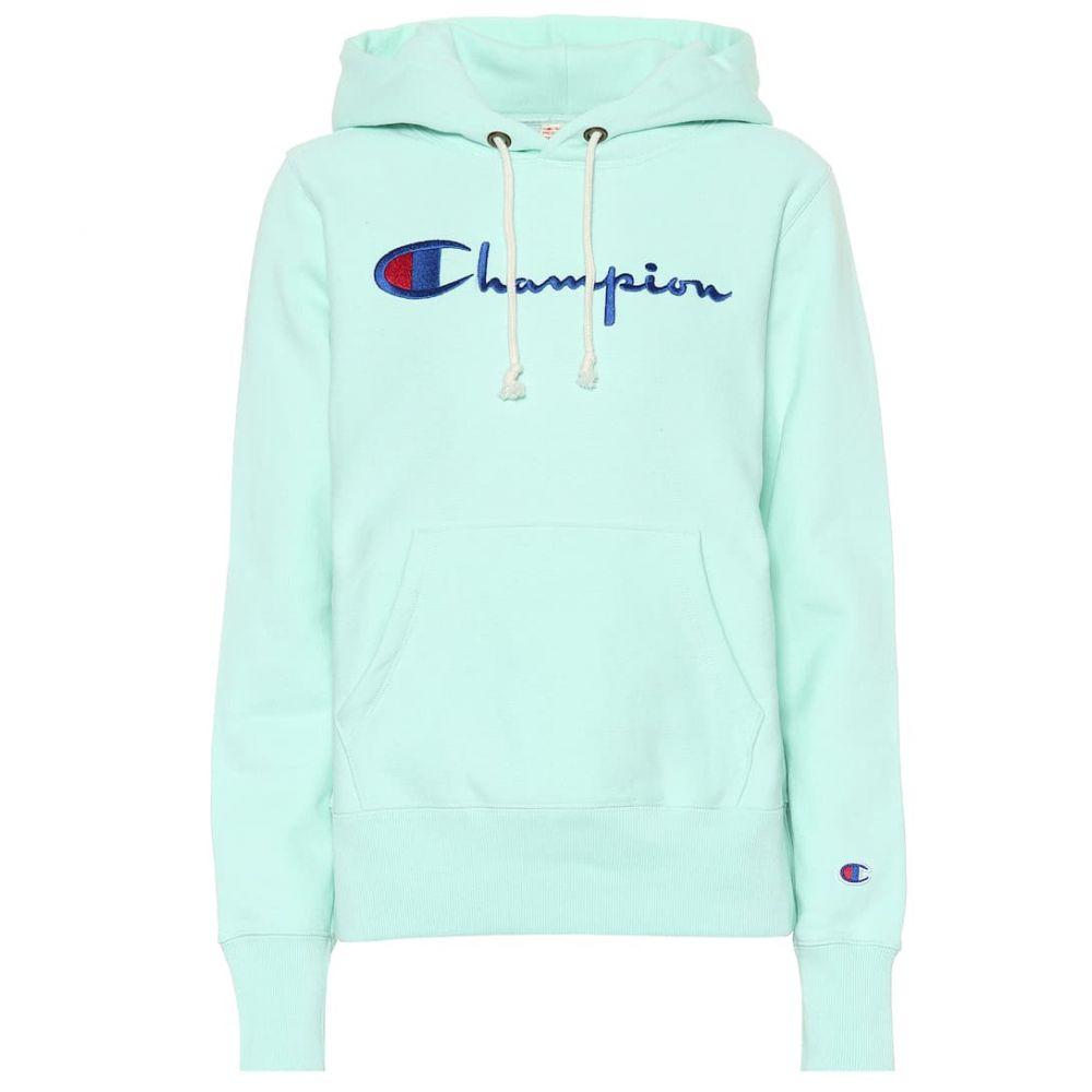 チャンピオン Champion レディース パーカー トップス【Logo cotton hoodie】hde