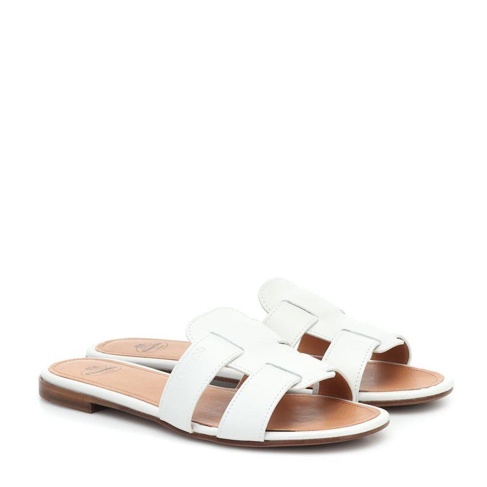 チャーチ Church's レディース サンダル・ミュール シューズ・靴【Dee Dee leather slides】White