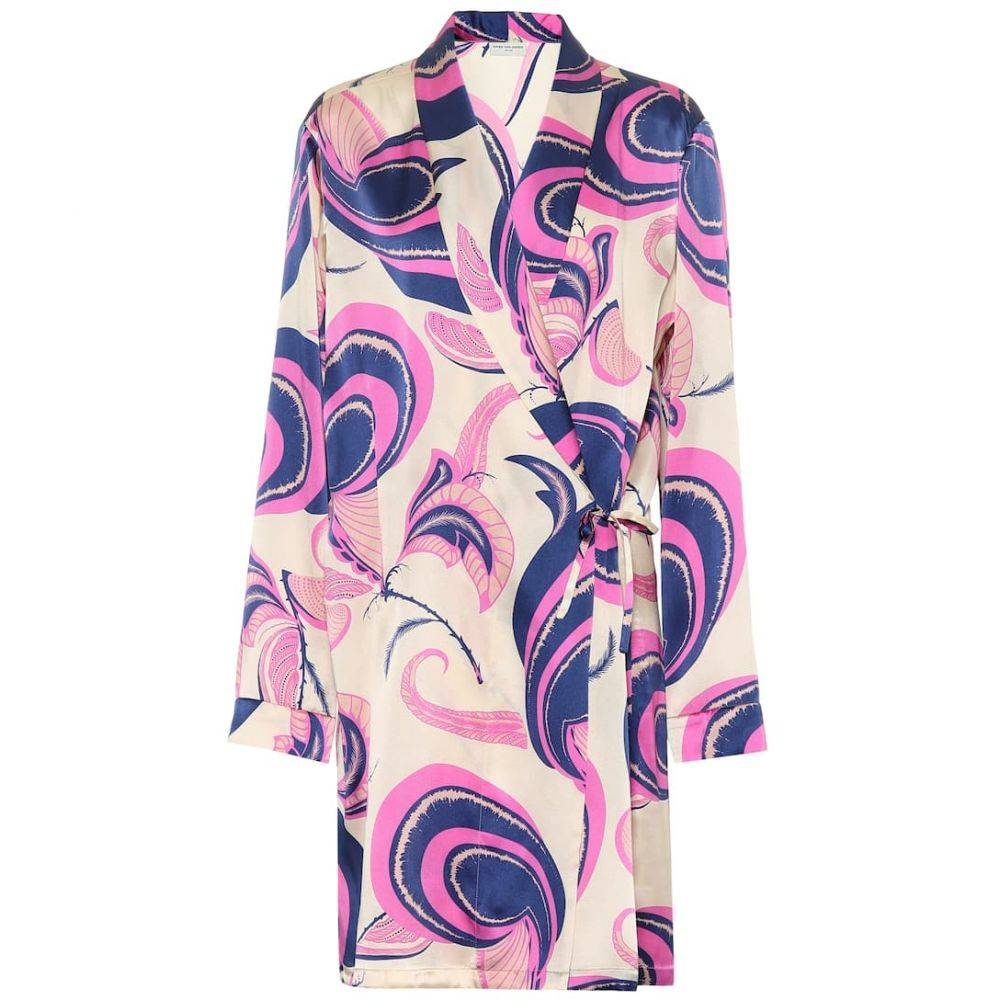 ドリス ヴァン ノッテン Dries Van Noten レディース ジャケット アウター【Printed silk jacket】ecru