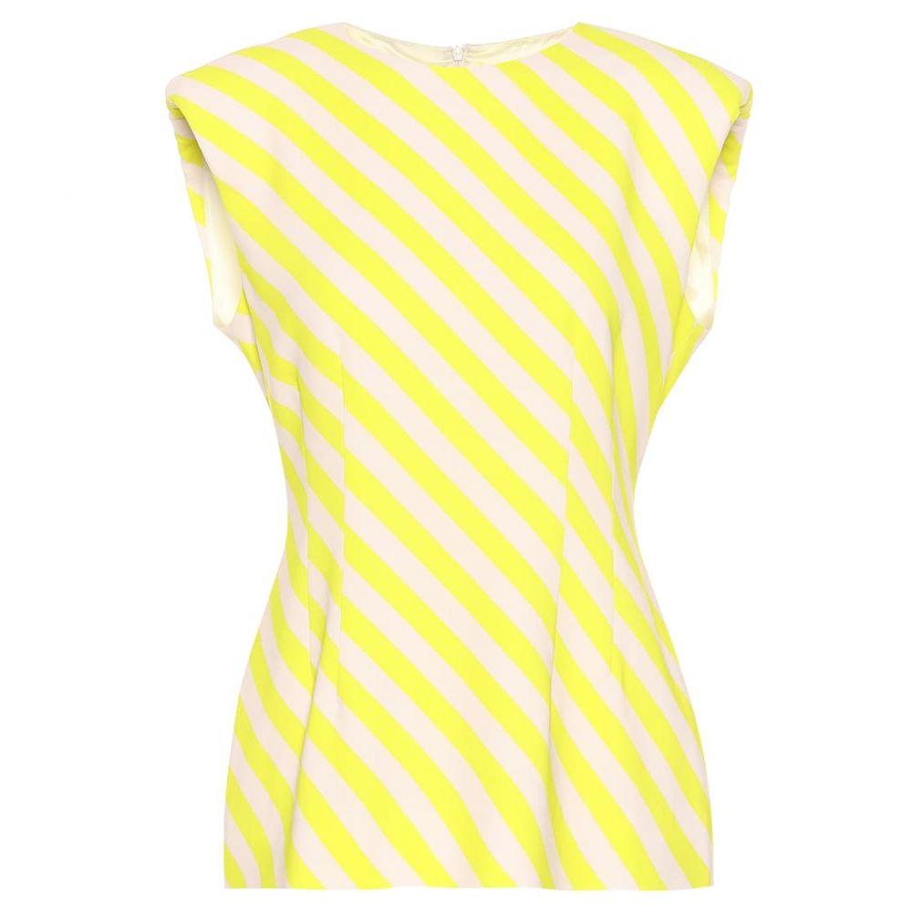 ドリス ヴァン ノッテン Dries Van Noten レディース トップス 【Striped top】Yellow