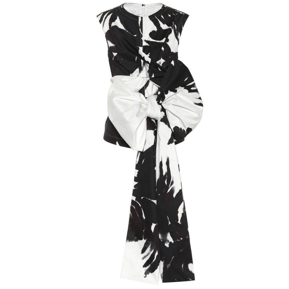 ドリス ヴァン ノッテン Dries Van Noten レディース トップス 【Printed silk-blend top】Black