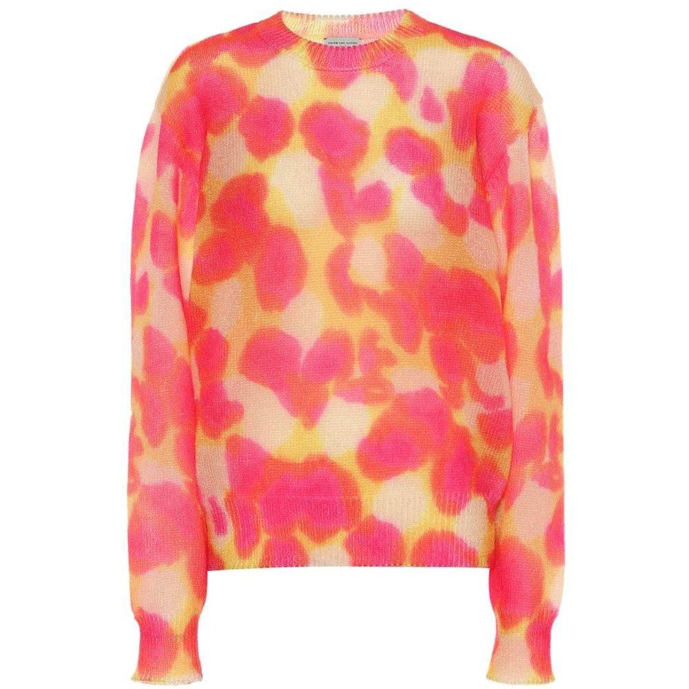 ドリス ヴァン ノッテン Dries Van Noten レディース ニット・セーター トップス【Printed sweater】pink