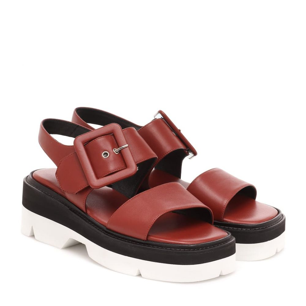 ドリス ヴァン ノッテン Dries Van Noten レディース サンダル・ミュール シューズ・靴【Leather sandals】Rust