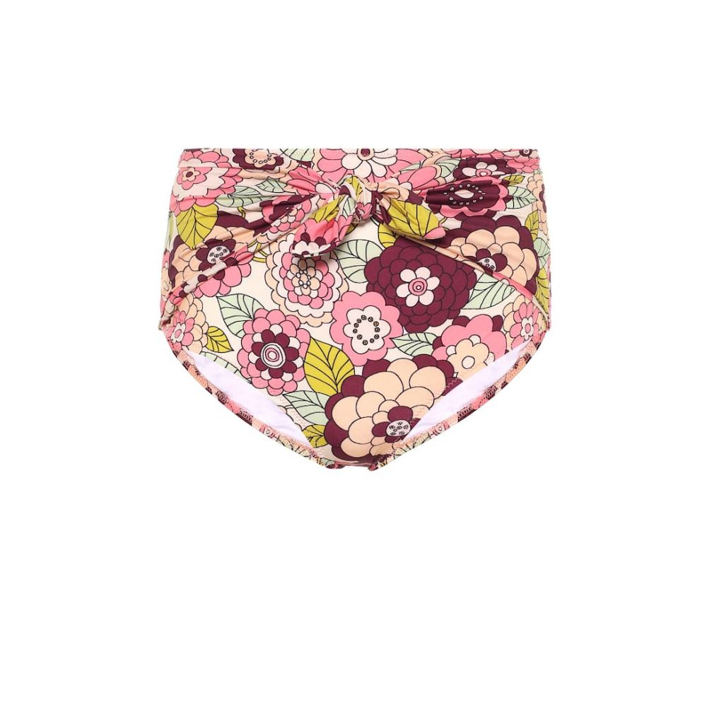 ドド バー オア Dodo Bar Or レディース ボトムのみ 水着・ビーチウェア【Floral high-rise bikini bottoms】Pink