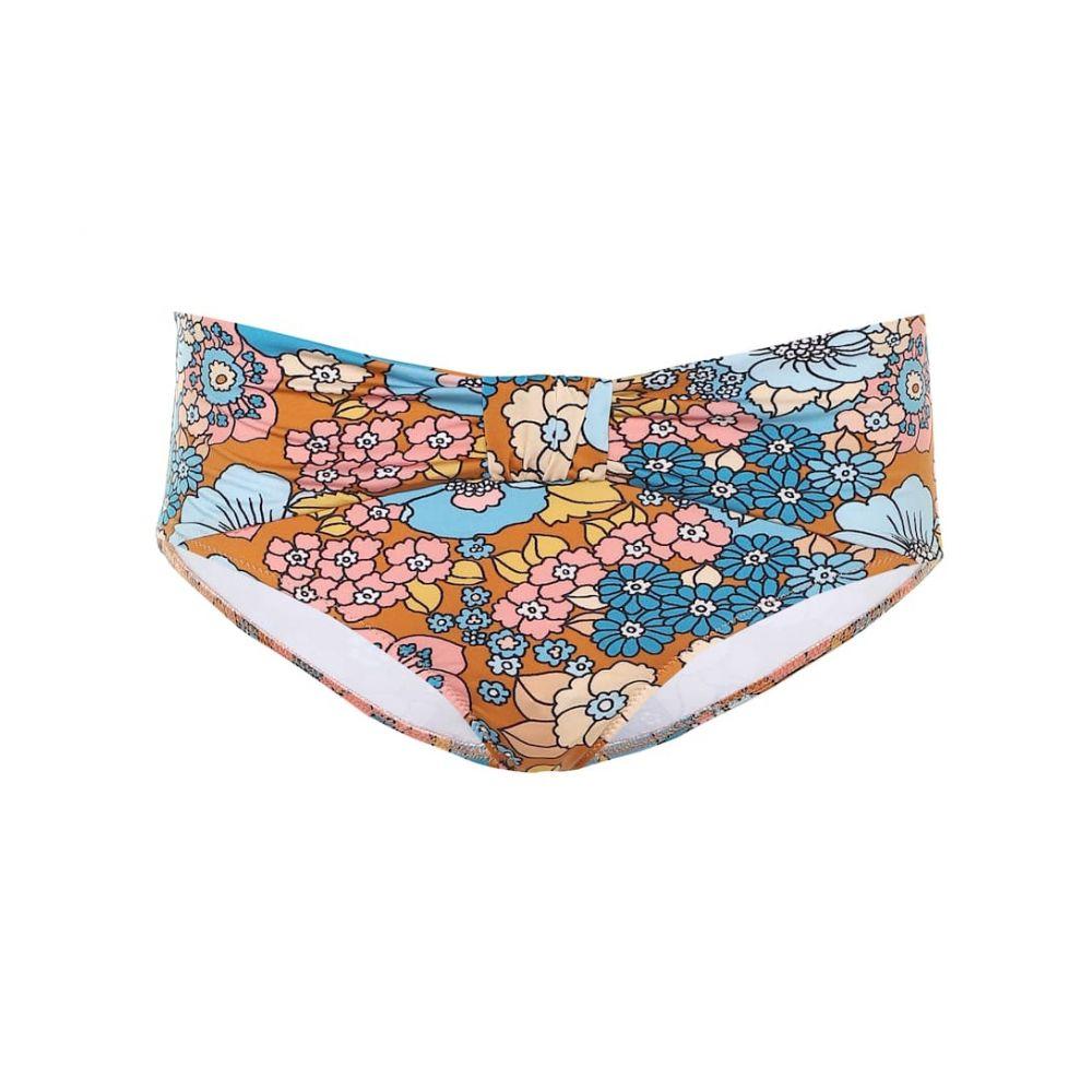 ドド バー オア Dodo Bar Or レディース ボトムのみ 水着・ビーチウェア【Floral bikini bottoms】Brown