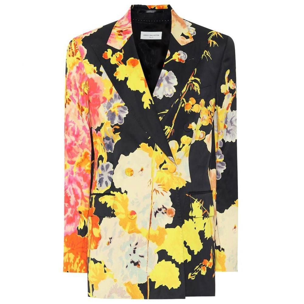 ドリス ヴァン ノッテン Dries Van Noten レディース スーツ・ジャケット アウター【Floral blazer】Black