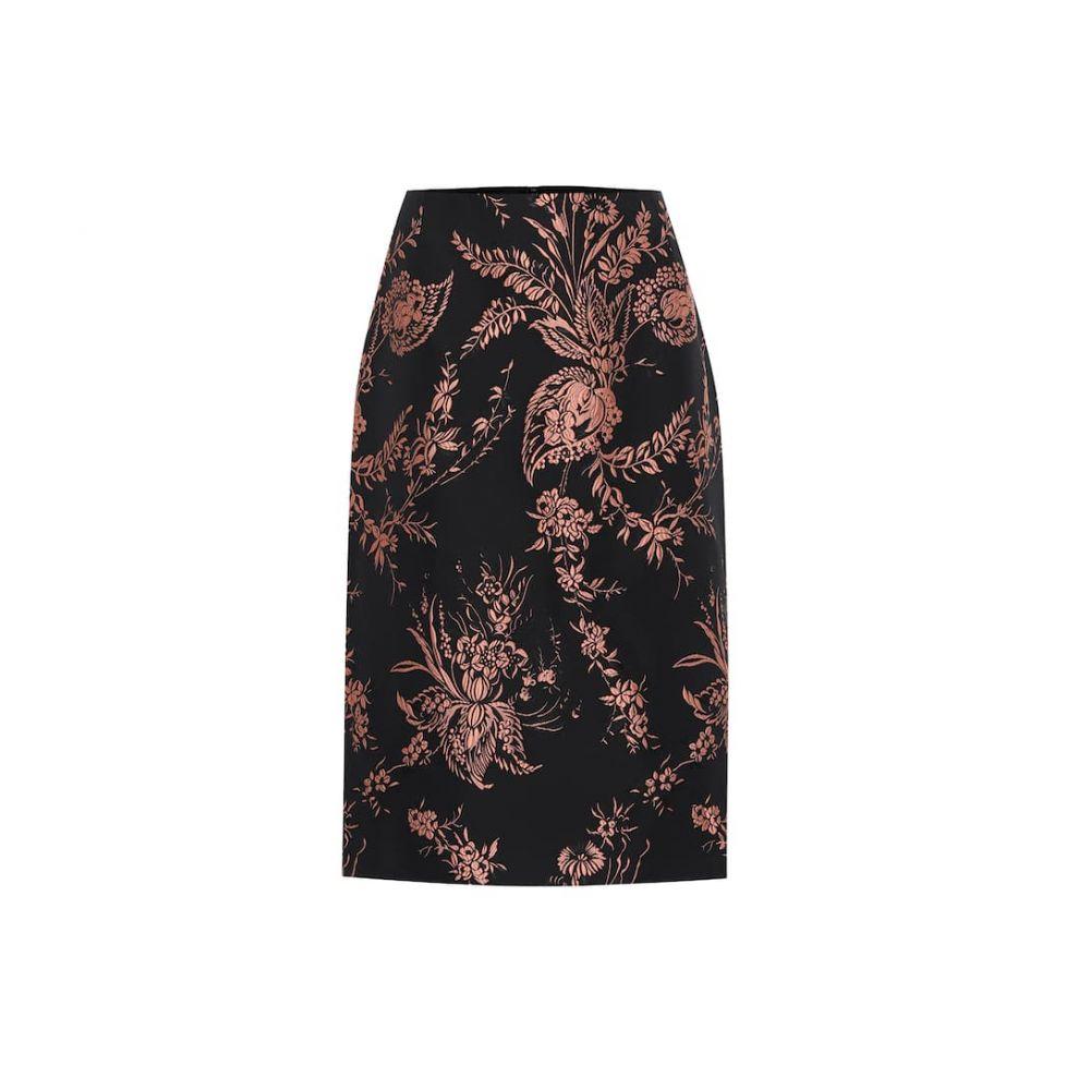 ドリス ヴァン ノッテン Dries Van Noten レディース ひざ丈スカート ペンシルスカート スカート【Floral brocade pencil skirt】Pink