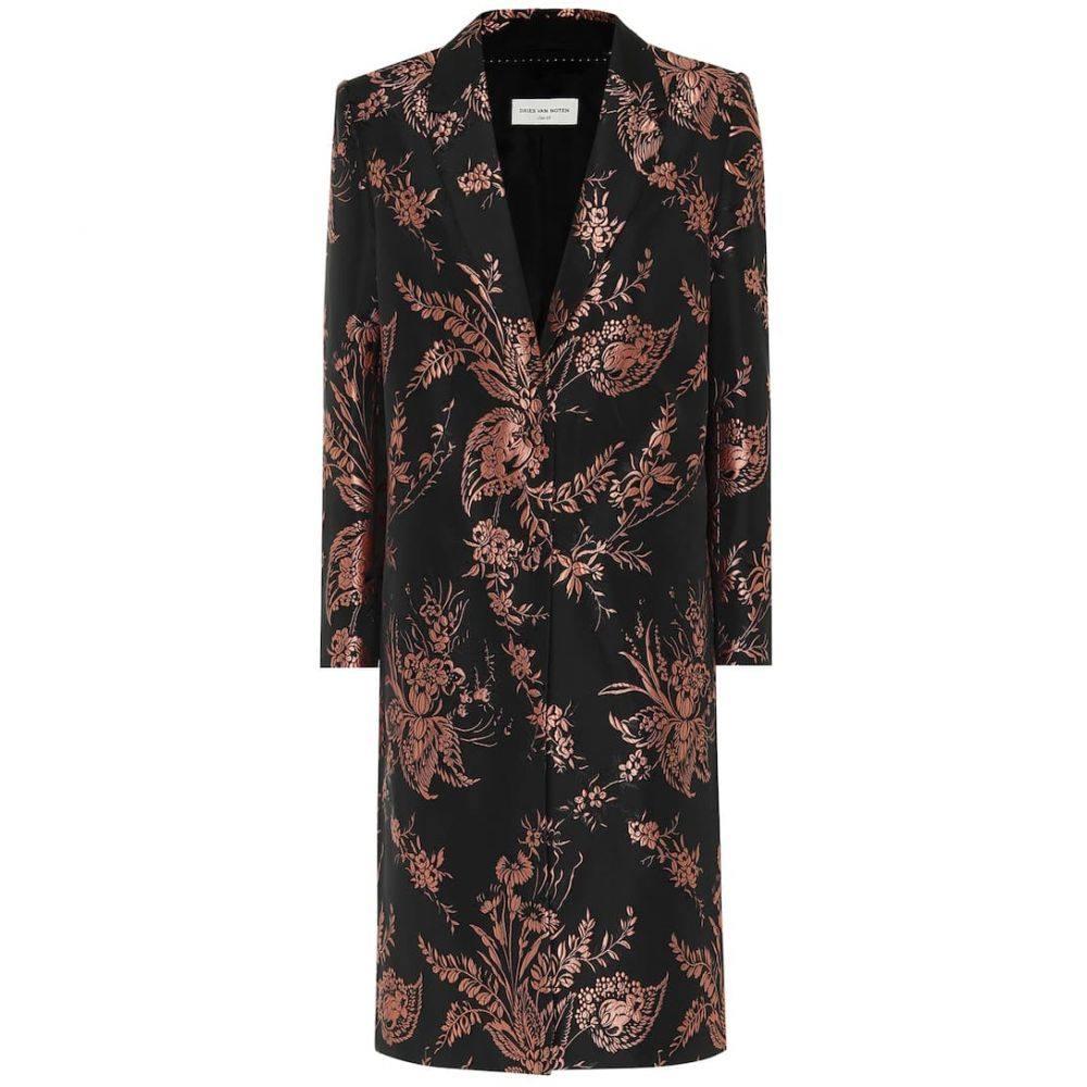 ドリス ヴァン ノッテン Dries Van Noten レディース コート アウター【Floral brocade coat】Pink