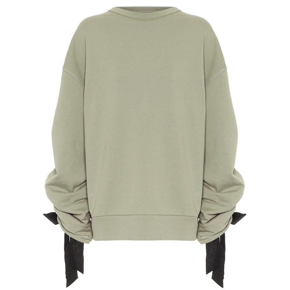 ドリス ヴァン ノッテン Dries Van Noten レディース スウェット・トレーナー トップス【Cotton sweatshirt】Mint