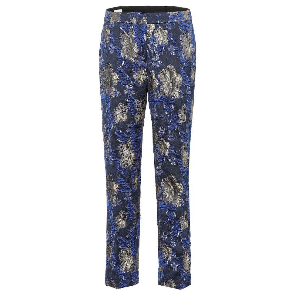 ドリス ヴァン ノッテン Dries Van Noten レディース ボトムス・パンツ 【Printed jacquard pants】blue