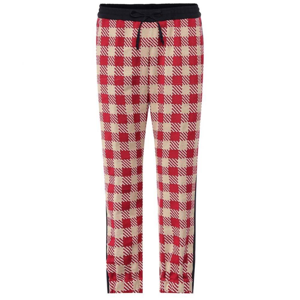 ドリス ヴァン ノッテン Dries Van Noten レディース ボトムス・パンツ 【Plaid cotton pants】Red