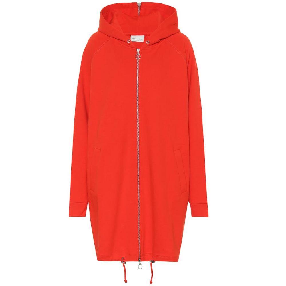 ドリス ヴァン ノッテン Dries Van Noten レディース パーカー トップス【Oversized cotton hoodie】Coral