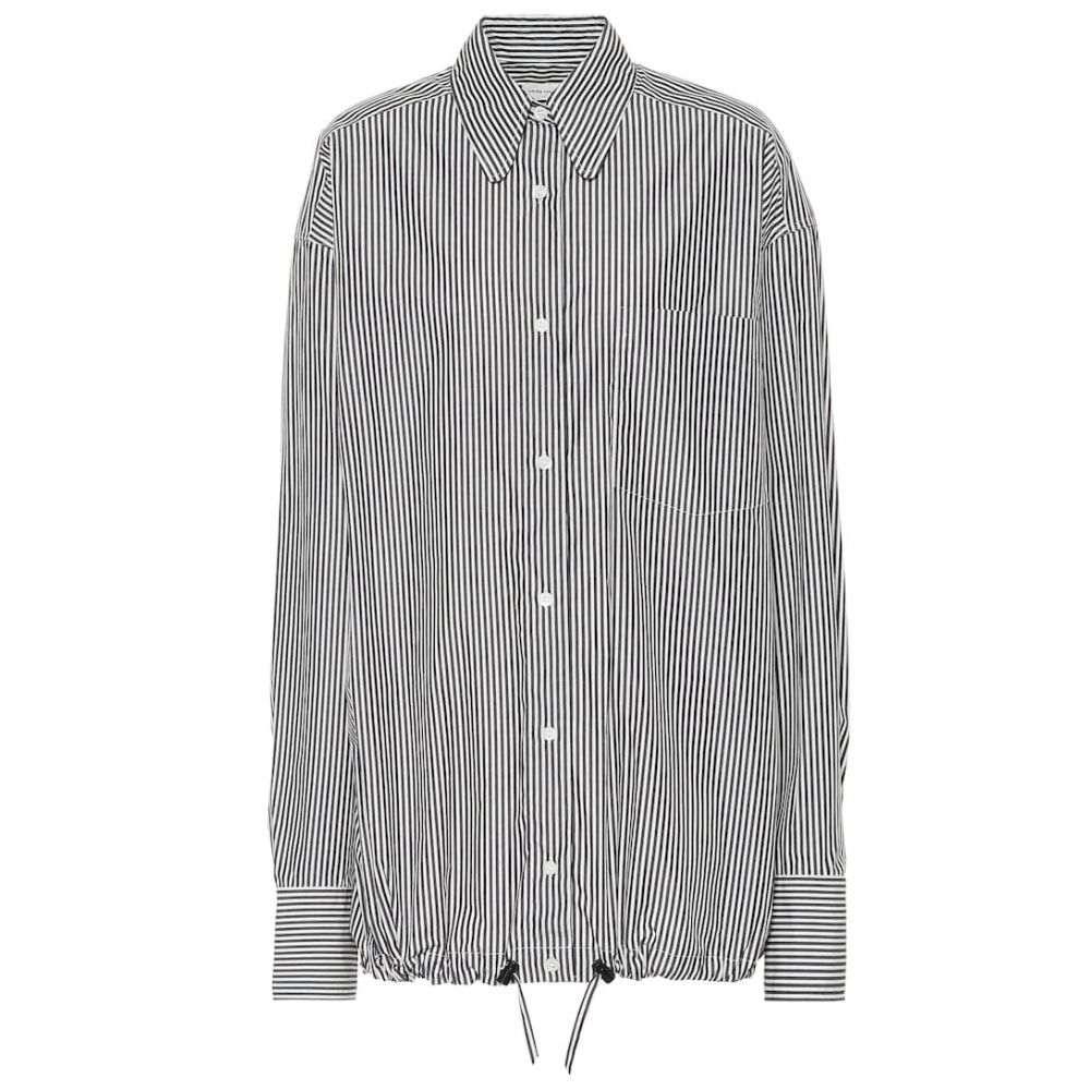 ドリス ヴァン ノッテン Dries Van Noten レディース ブラウス・シャツ トップス【Striped cotton shirt】