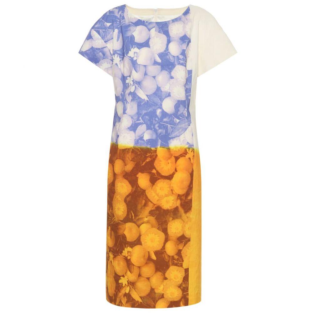 ドリス ヴァン ノッテン Dries Van Noten レディース ワンピース ワンピース・ドレス【Printed cotton and linen dress】Des A