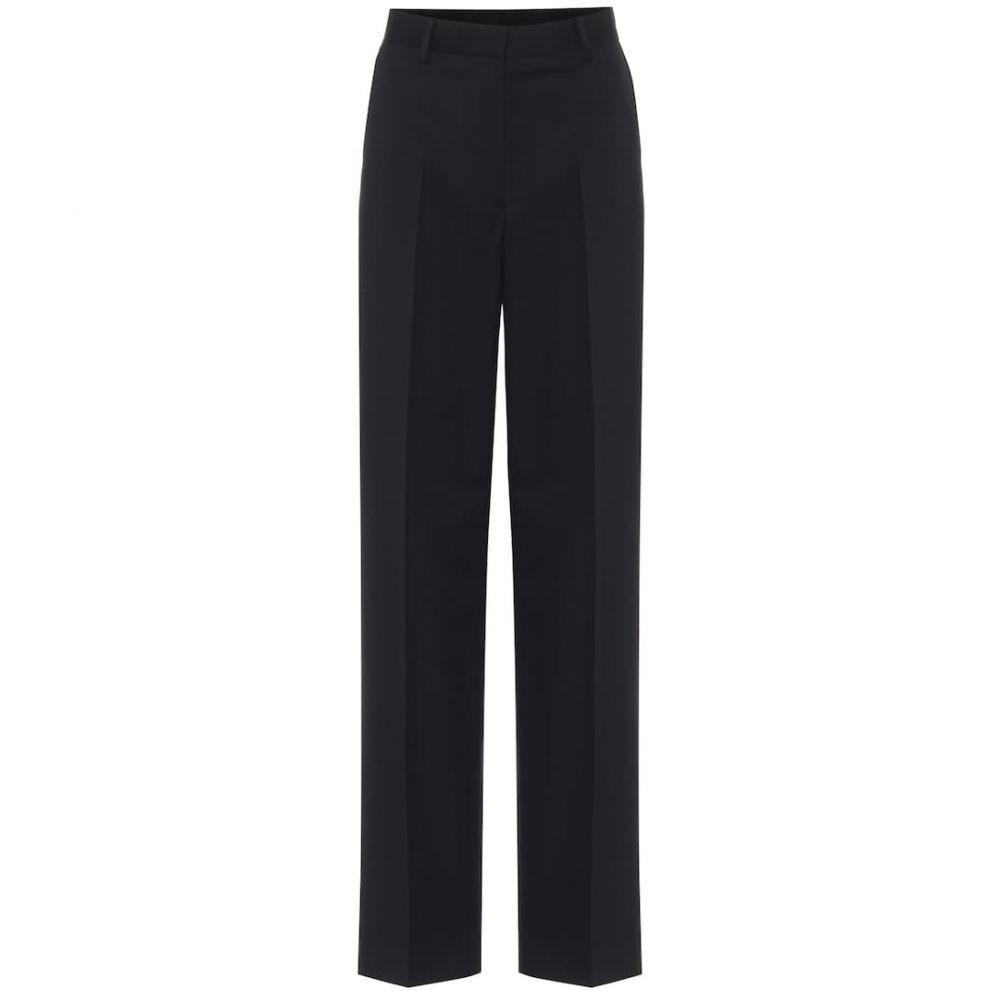 ドリス ヴァン ノッテン Dries Van Noten レディース ボトムス・パンツ 【High-rise cotton and wool pants】Black