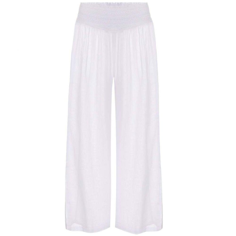 ハイジ クライン Heidi Klein レディース ボトムス・パンツ キュロット【Seychelles cotton culottes】White