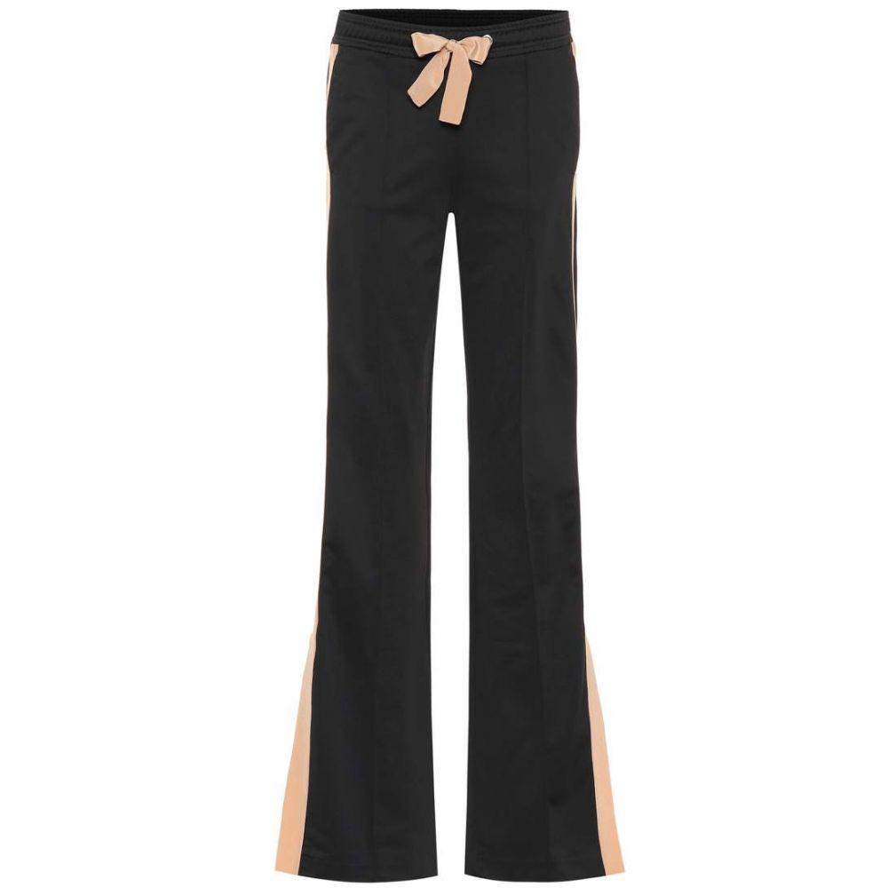 ドロシー シューマッハ Dorothee Schumacher レディース ボトムス・パンツ 【Sporty Couture jersey pants】Beige Black Couture